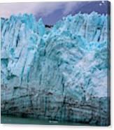 Alaskan Blue Glacier Ice Canvas Print