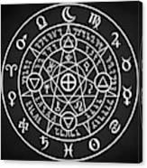 Alchemical Sigil Canvas Print