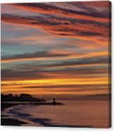 All Saints Day Sunrise Canvas Print