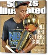 All That Glitters Is Gold Sports Illustrated Cover Canvas Print