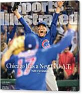 All The Way Chicago Has A New G.o.a.t. Sports Illustrated Cover Canvas Print