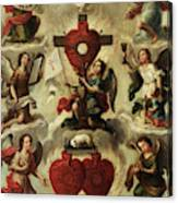 Allegory Of The Holy Eucharist Canvas Print