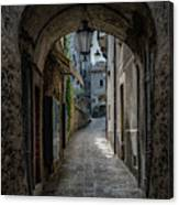 Alleys Of San Marino Canvas Print