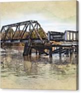 Altamaha Park Trestle Canvas Print