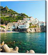 Amalfi Coast, Italy Canvas Print