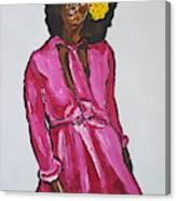 Amara Lanegra Canvas Print