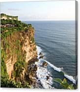 Amazing Views At Uluwatu, Bali Canvas Print