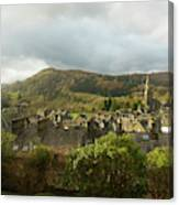 Ambleside Rooftops In The Lake District National Park Canvas Print
