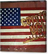 American Coyote Ugly Canvas Print