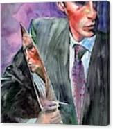 American Psycho Painting Canvas Print