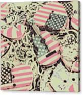 Americana Audio Canvas Print