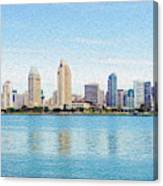 Americas Finest City Canvas Print