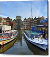 Amsterdam Central Canvas Print