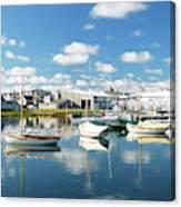 An Idyllic Boating Day Canvas Print