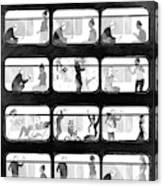 An L Train Love Story Canvas Print