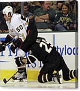 Anaheim Ducks V Dallas Stars Canvas Print