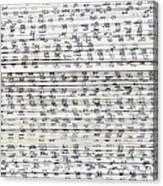 Ancient Paper Book Canvas Print