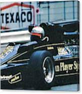 Andretti Monaco 78 Canvas Print