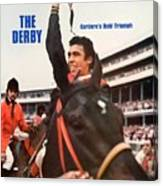 Angel Cordero, 1976 Kentucky Derby Sports Illustrated Cover Canvas Print