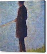 Angler 1884 Canvas Print
