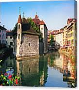 Annecy, Savoie, France Canvas Print