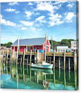 Another Day On The Water Canvas Print