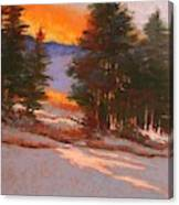 Another Winter Dawn Canvas Print