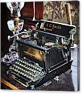 Antique Typewriter 2 Canvas Print
