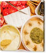 Appetizers Delight Canvas Print
