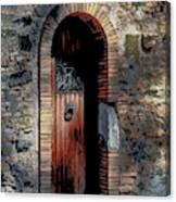 Appia Antica Porta Canvas Print