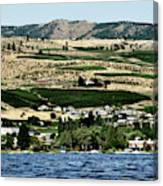 Apple Farming On The Hills Of Wenatchee Canvas Print