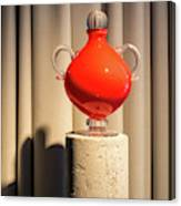 Apple Vase Canvas Print