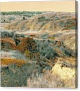 April Domain In Dakota West Canvas Print