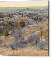 April Prairie Reverie Canvas Print