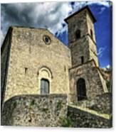 Aquino Chiesa Canvas Print
