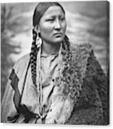 Arapahoe Woman Canvas Print