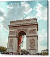 Arc De Triomphe - World Cup 2018 Canvas Print