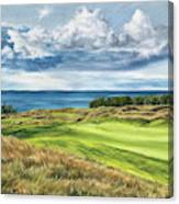 Arcadia Bluffs Canvas Print
