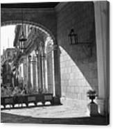 Arch And Shawdow Canvas Print