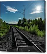Arctic Express Canvas Print