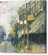 Argenta This Is Not Alices Restaurant Canvas Print