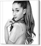 Ariana Grande drawing Canvas Print