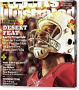 Arizona Cardinals Larry Fitzgerald, 2016 Nfl Football Sports Illustrated Cover Canvas Print