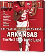 Arkansas Darren Mcfadden, 2007 College Football Preview Sports Illustrated Cover Canvas Print