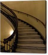 Arlington Spiral Stairs Canvas Print
