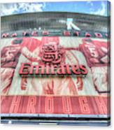Arsenal Fc Stadium London Canvas Print