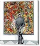 Art Connoisseur Canvas Print