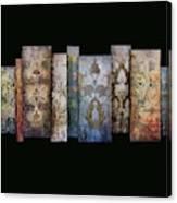 Art Panels - Antique Wallpaper  Canvas Print
