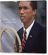 Arthur Ashe, Tennis Sports Illustrated Cover Canvas Print