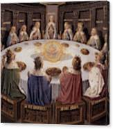 Arthurian Legend, The Knights Of The Round Table Canvas Print